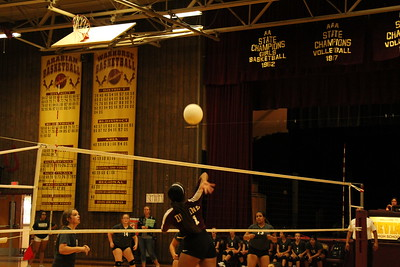 JV and Fresh Volleyball vs Marion 8-31-18