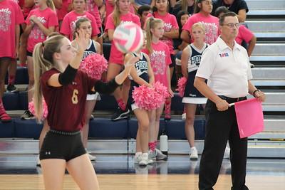 Varsity Volleyball Devine vs Hondo 101218