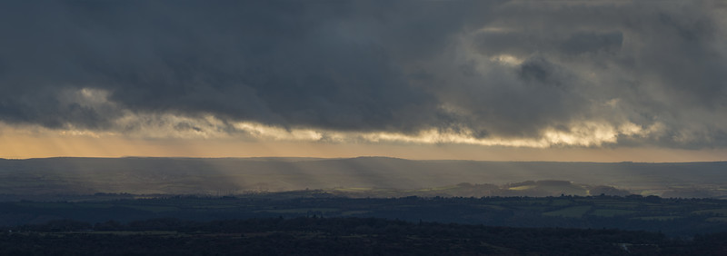 Skulls And Rays Over South Devon
