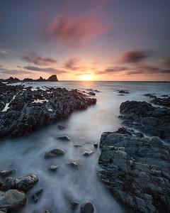 Hartland Quay at Sunset - 2
