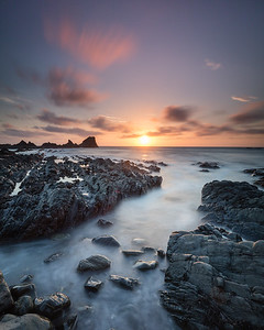 Hartland Quay at Sunset - 1