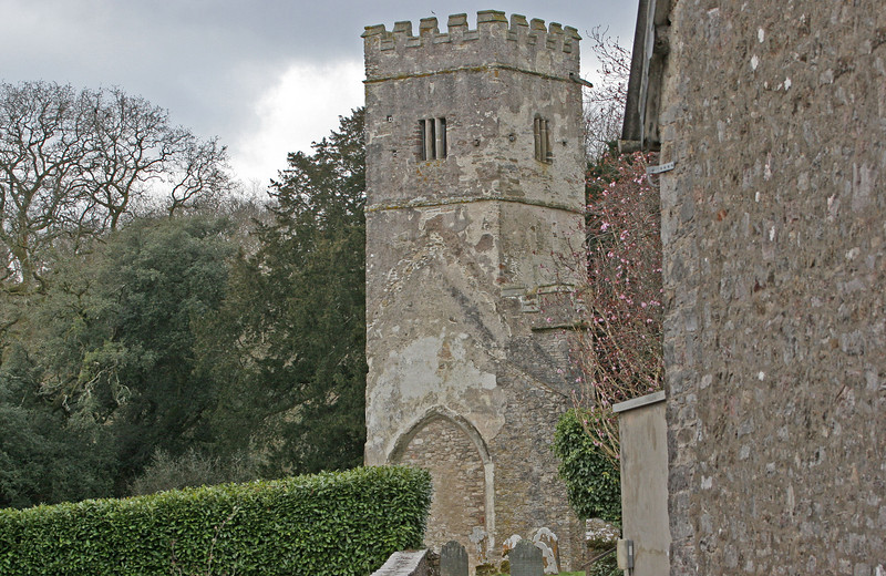 All that remains of the chapel is the tower which is in a good state of preservation.
