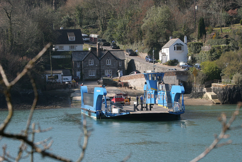 King Harry's Ferry provides a way across  the River Fal and a 27 mile short cut. The first ferry was in service in 1888 and it is one of only five chain ferries in England.