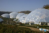 Project Eden is the largest greenhouse in the world and built over 150 feet down in an abandoned clay pit the size of fifty football fields. Each dome contains the vegetation from a different part of the world from tropical to arid desert.