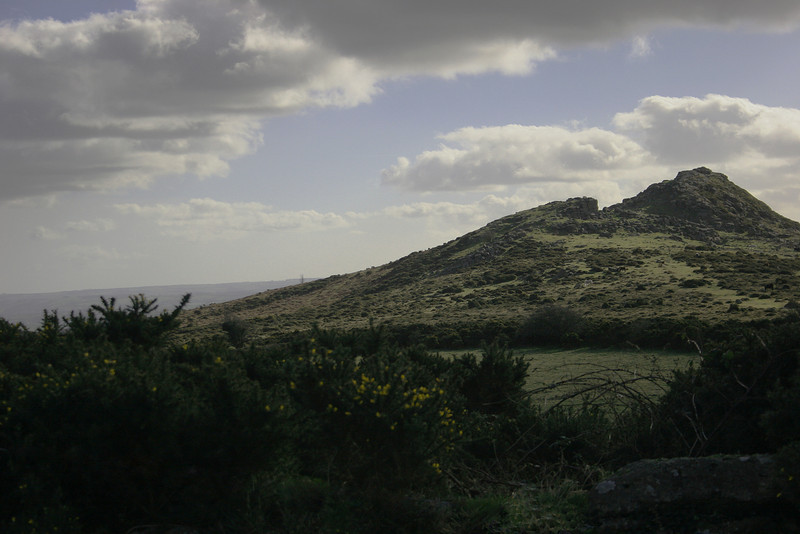 Both Dartmoor and Exmoor are dotted with peaks known as Tors