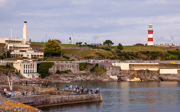 Plymouth Hoe park and seafront