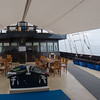 Dining and dive deck