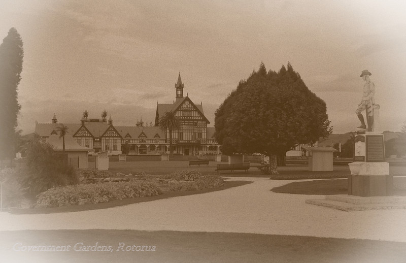 torrbrae - Government Gardens, Rotorua
