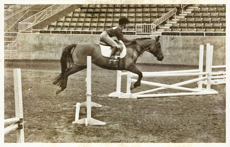 StueveShots - Jumping Preliminary. Gregory on Athena's Daughter. 1912