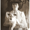 sweetharmony- Mrs. Shaw with her dog Eddie