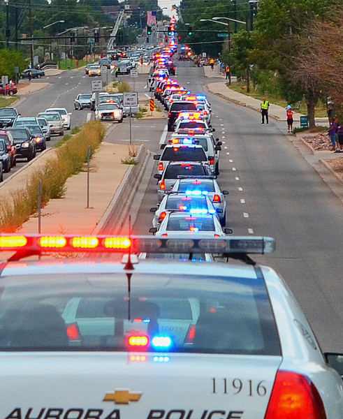 Endurodog - Fallen Officer Procession, community pride