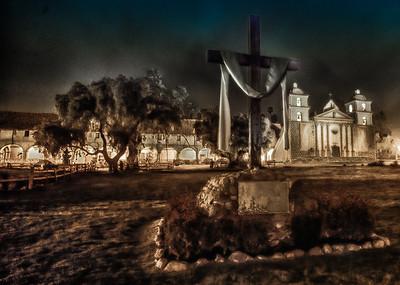 billseye - Easter 10:05 p.m. - Santa Barbara Mission