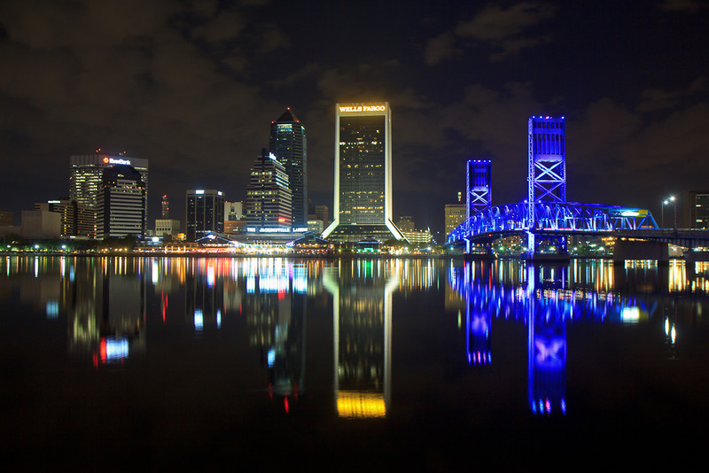 JamesVernacotola - Jacksonville at Night