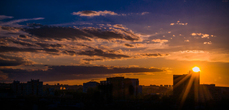 JuanHeredia - Sunset in Madrid