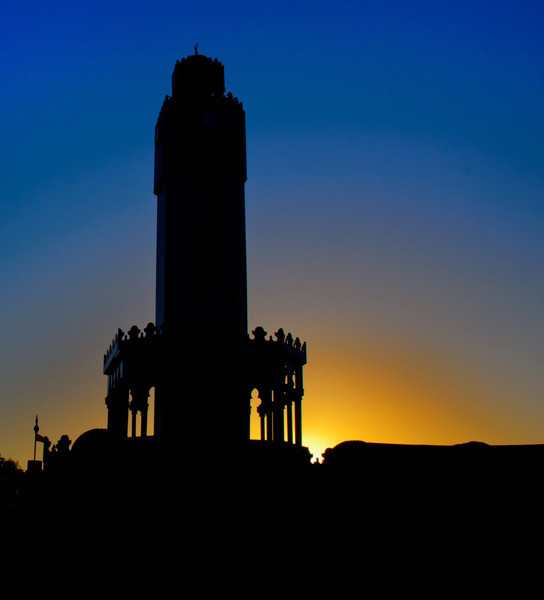 memol - Minaret at Sunset