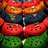 fotomom - Rainbow of Crocs