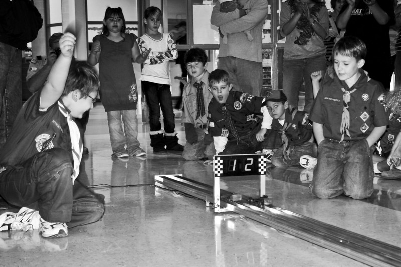 e mari ad terram - Cubscout Pack #735 Pinewood Derby 2010