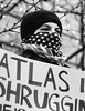 NikonsandVstroms - Masked Protester