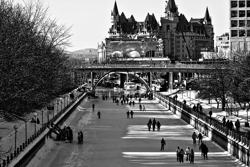 photo-bug - Rideau canal is open for skating