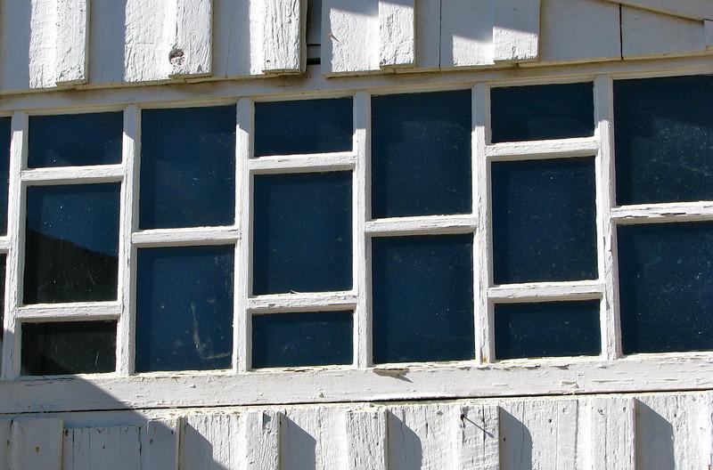 Lady Angler - San Juan Bautista stable window