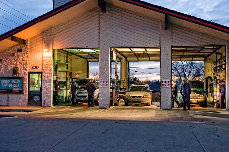 learnin - Dusk at the Garage