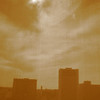 oldtown_dreamer - view from the 25th floor<br /> (shot through the pull-down shade, camera set to sepia)