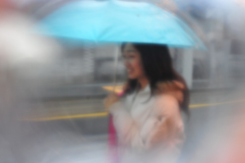 michswiss - Girl with umbrella
