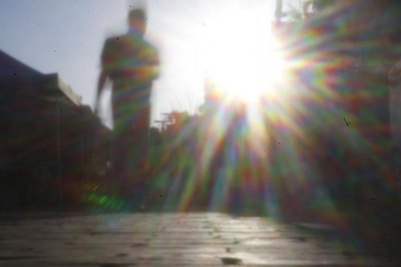 Kinkajou - Sunflare<br /> <br /> Pinhole
