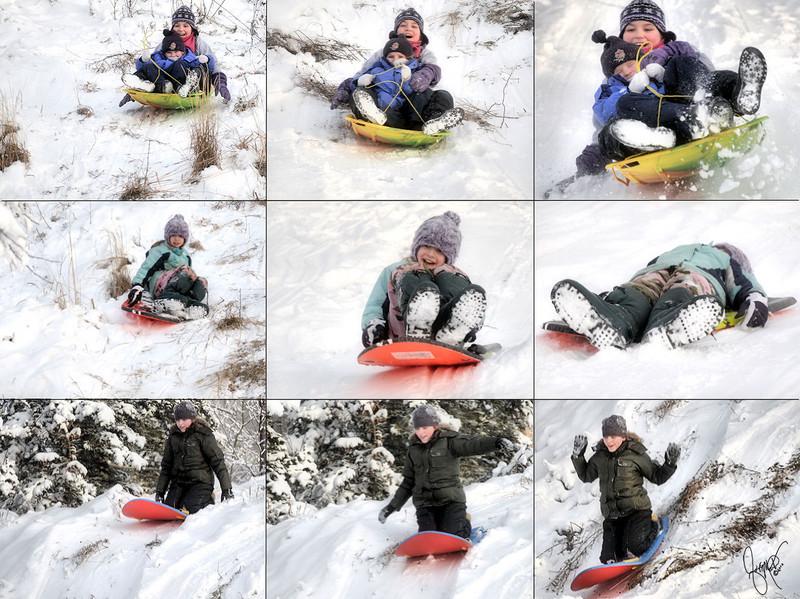JAG - Slip sliding away!