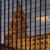 konomaniac - Travelers Tower reflected