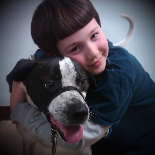fotomom - My Boy and His Dog