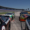 slpollett - Pit Road During a Nascar Driving Experience
