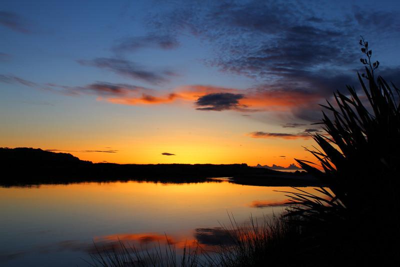 torrbrae - Sunset at Tarawera River mouth