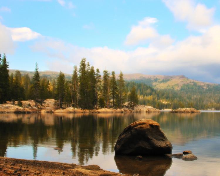 DsrtVW - Alpine Lake at Ebbetts Pass