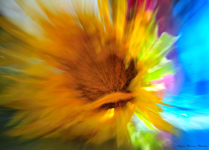 JAG - Phsychodelic Sunflower