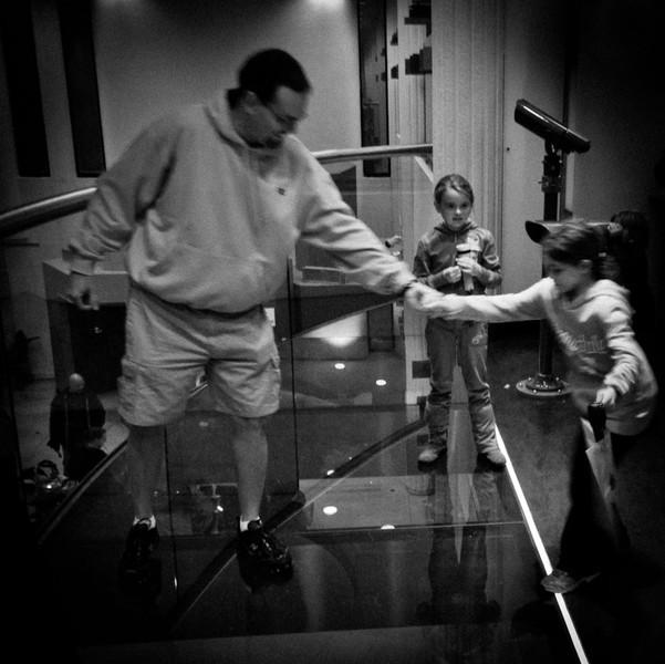 DonRicklin - Scared of a glass floor.