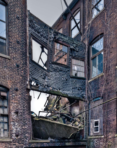DonRicklin - D is for dilapidated, dangerous, dingy, decadent, destitute.