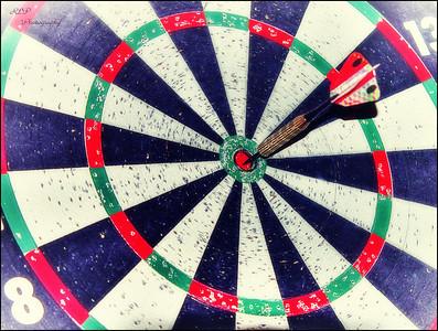 K10D - Vanishing Point on Target