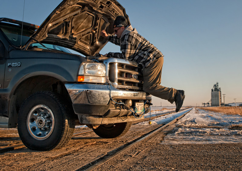 jmcphoto - Trouble on the Tracks