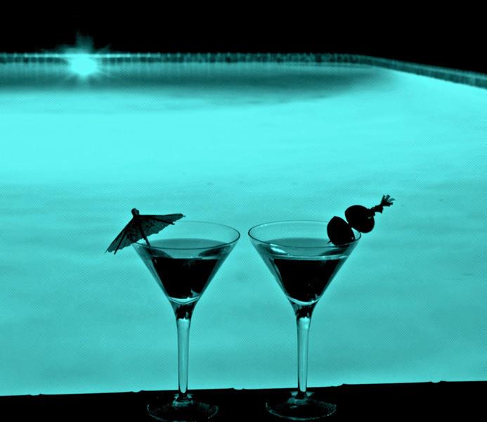 GretaPics - Midnight Swim