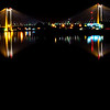 Mycaptures - Cable Bridge Reflection