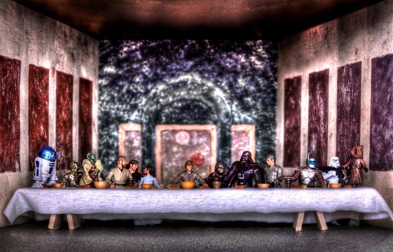 SimpsonBrothers - Last Supper on Tatooine