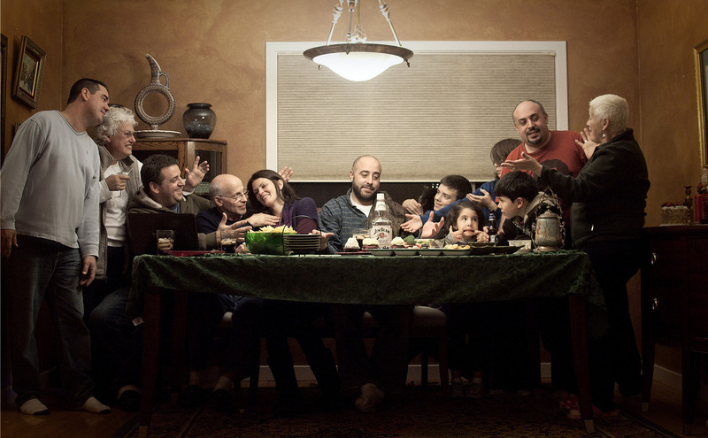 "lizzard_nyc  - ""Modern Day Last Supper""<br /> DSS Mega-Challenge #10 (Last) winning photo!"
