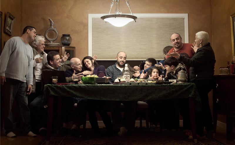 "lizzard_nyc  - ""Modern Day Last Supper""<br /> DSS Mega-Challenge #10 (Last) winning photo!"