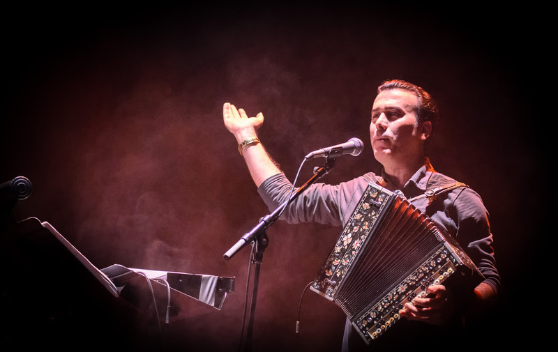 cambyses - Azeri Folk Singer and Garmon Player