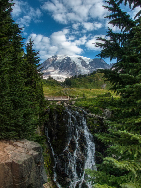 WhatSheSaw - Myrtle Falls