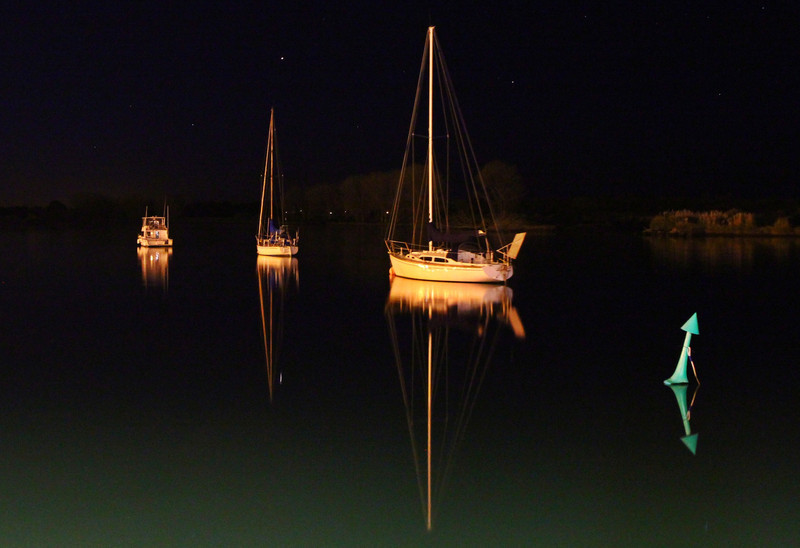 torrbrae - Night on the Whakatane River