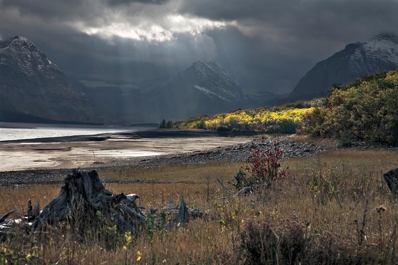 Jack (CalfeeRider) - Godrays Over Lake Sherburne