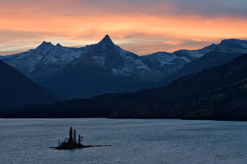 Jack (CalfeeRider) - Wild Goose Island Sunset