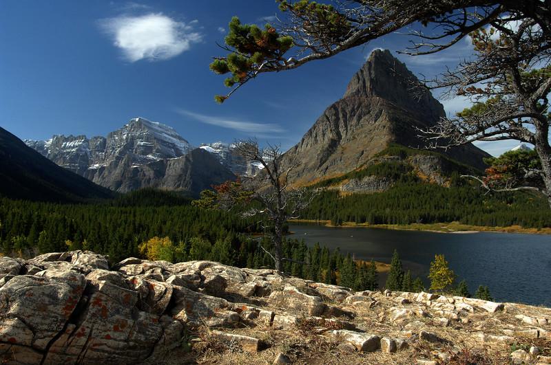 "Greaper - ""Swiftcurrent Lake, Glacier National Park"""